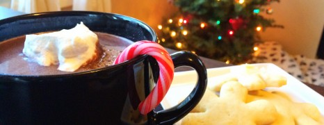 12 Holiday Food Comas: Minty Hot Chocolate